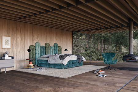 BRETZ Bretz W129 CREOLE BED ambiente 02 (ZIP)