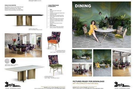 Bretz DINING 00 information (PDF)