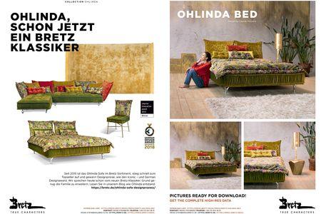 Bretz OHLINDA BED information (PDF)
